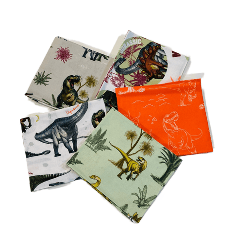 The Craft Cotton Co Age of the Dinosaurs Fat Quarter Pack