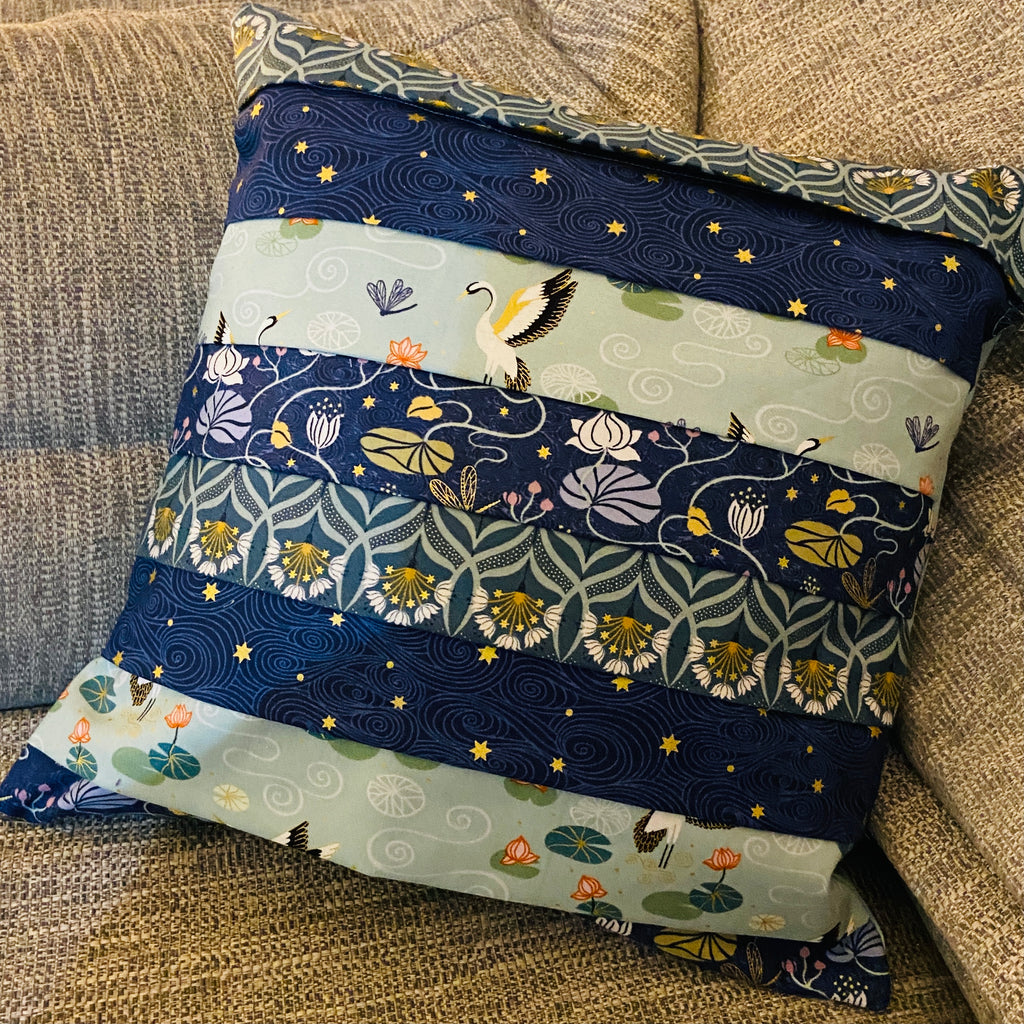 Pleated Cushion Cover - PDF pattern