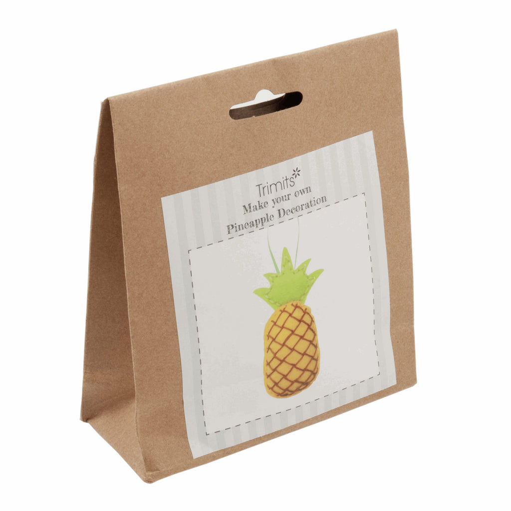 Trimits Felt Pineapple Decoration Kit