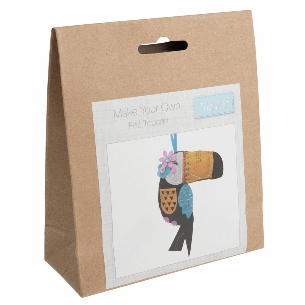 Trimits Felt Toucan Decoration Kit