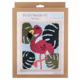 Trimits Flamingo Punch Needle Kit