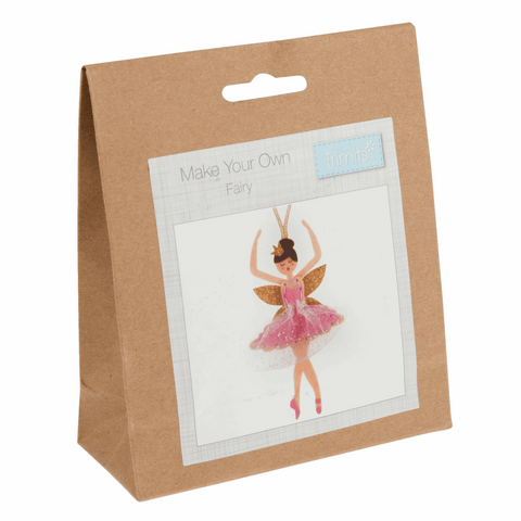 Trimits Felt Sugar Plum Fairy Decoration Kit