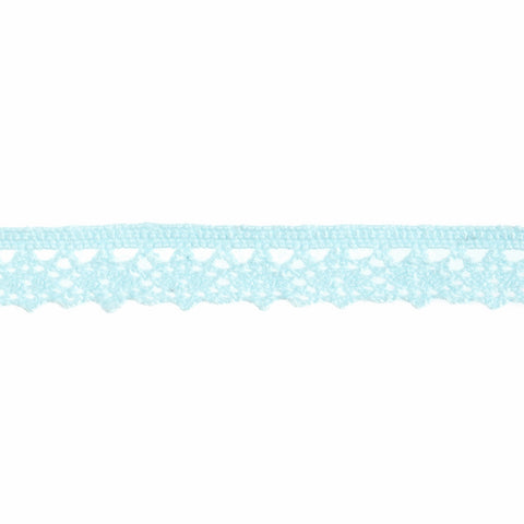 10mm Blue Lace Ribbon