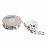 25mm Happy Mother's Day Printed Satin Ribbon