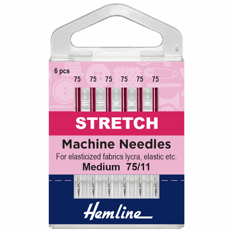 Hemline Sewing Machine Needles - Stretch 75/11