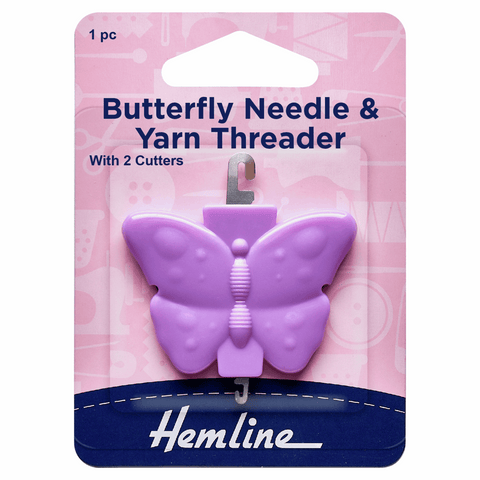 Hemline Butterfly Needle & Yarn Threader