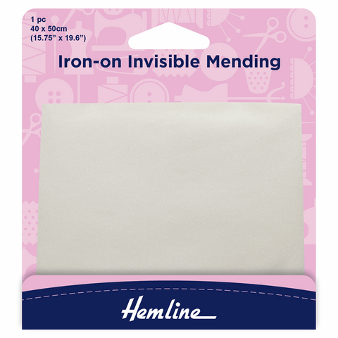 Hemline Iron-on Invisible Mending Pack