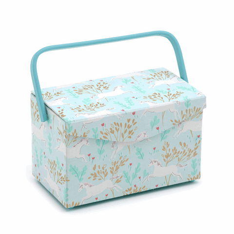 Unicorn Dash Foldover Lid Sewing Box