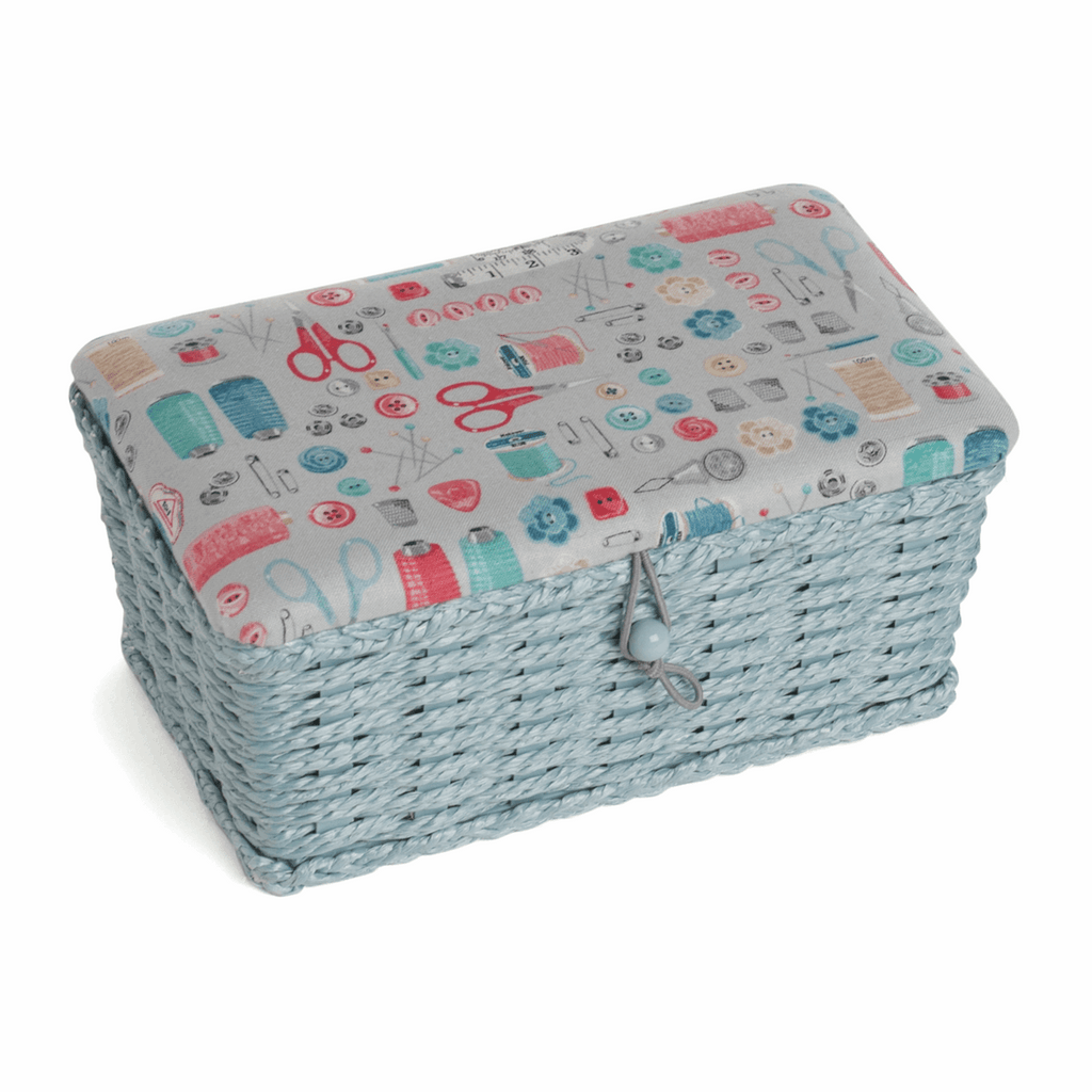 Stitch in Time Woven Storage Basket