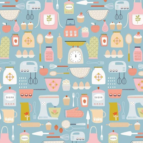 Dashwood Hobbies - Baking - 100% Cotton Fabric