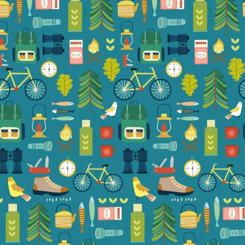 Dashwood Hobbies - Great Outdoors - 100% Cotton Fabric