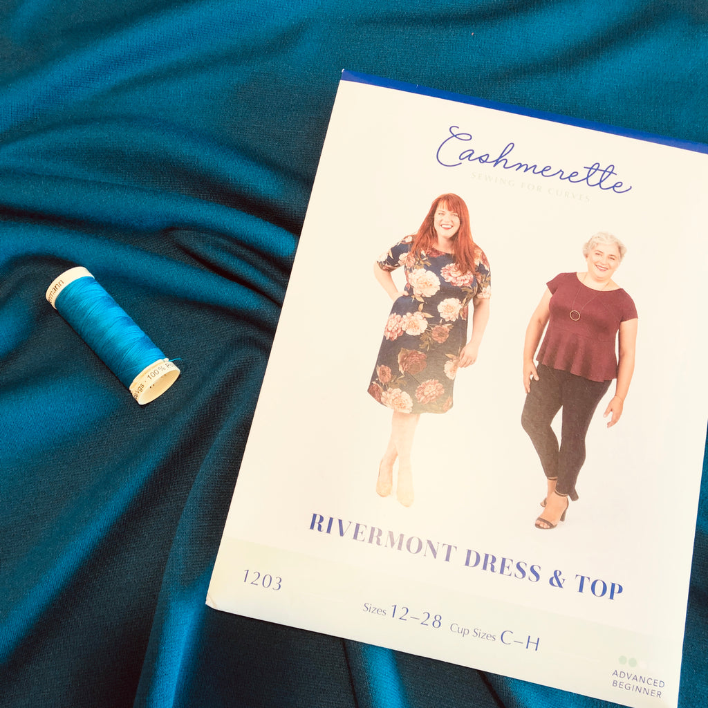 Rivermont Plus Size Dress/Top Dressmaking Project Box