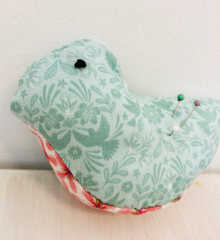 Bird Pin Cushion Project Box