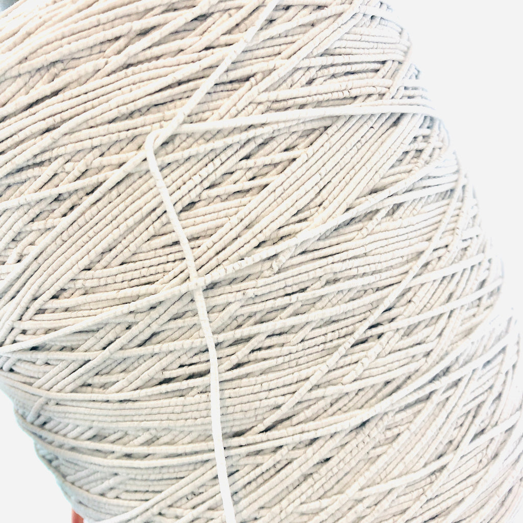2mm Extra Soft Elastic Cord - White