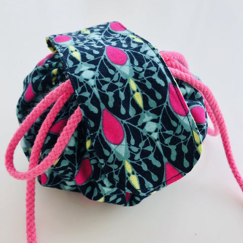 Drawstring Make-up Bag - PDF pattern