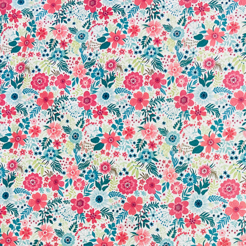 Tropic Floral 100% Cotton Fabric