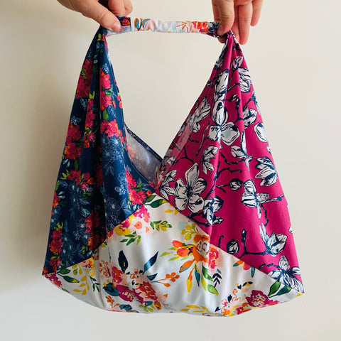 Fat Quarter Shopping Sling Bag - PDF pattern