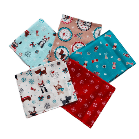 The Craft Cotton Co Freddie & Friends Christmas Fat Quarter Pack