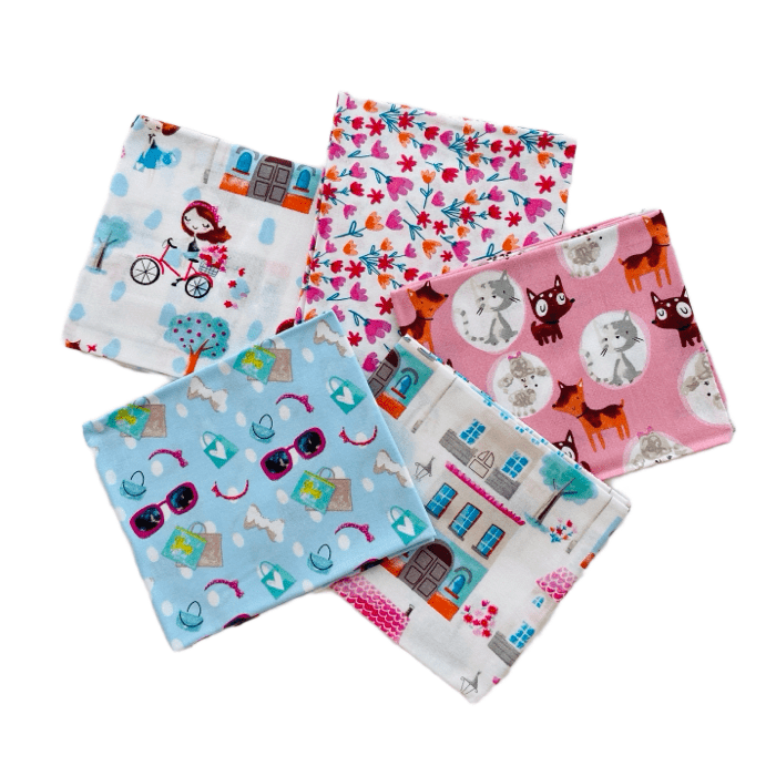 The Craft Cotton Co Girls Day Out Fat Quarter Pack