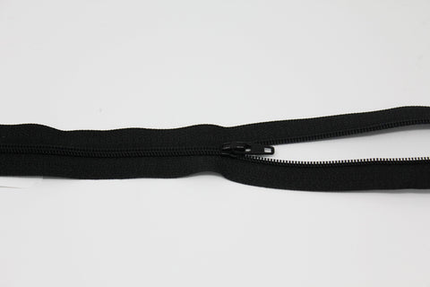 "20cm/8"" Dress Zip - Black 580"