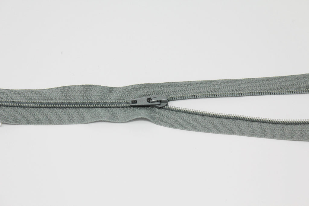 "20cm/8"" Dress Zip - Light Grey 577"