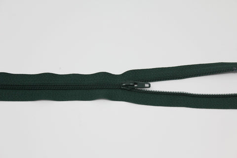 "20cm/8"" Dress Zip -  Forest Green 890"