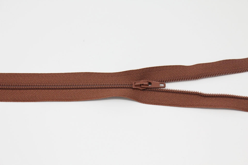 "20cm/8"" Dress Zip - Tan 855"