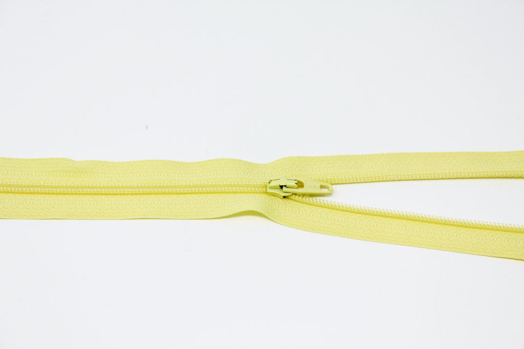 "20cm/8"" Dress Zip - Lemon 802"