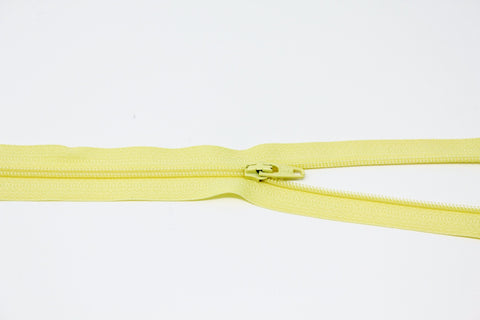 "56cm/22"" Dress Zip - Lemon 802"