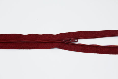 "20cm/8"" Dress Zip - Cherry 520"