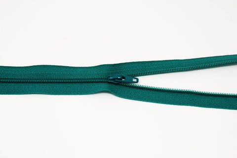 "46cm/18"" Dress Zip -  Kingfisher 037"