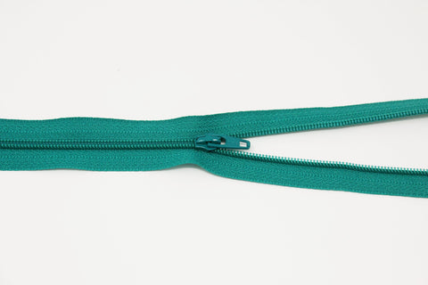 "20cm/8"" Dress Zip -  Dark Mint 877"