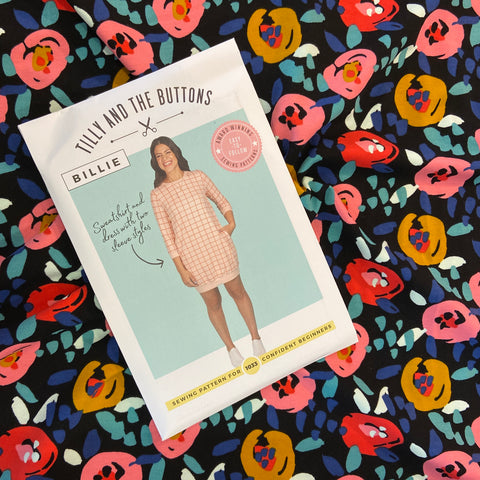 Billie Sweatshirt/Sweater Dress Dressmaking Project Box