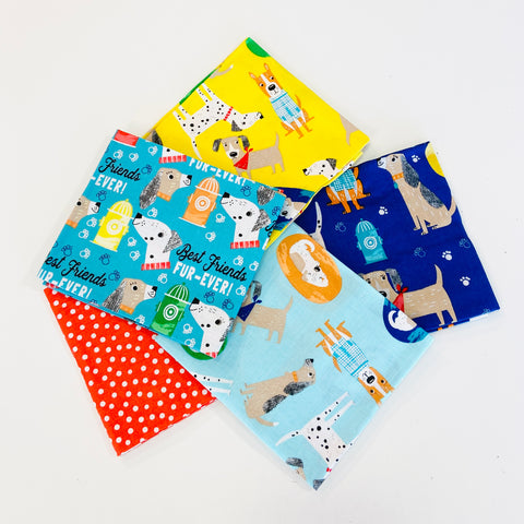 3 Wishes Best Friends Fur Ever Fat Quarter Pack