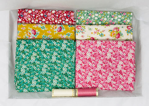 One-Off Deluxe Fabric Box - Tilda