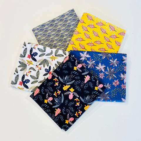 The Craft Cotton Co Camil Fat Quarter Pack