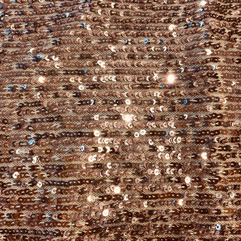 Rose Gold Sequin Fabric