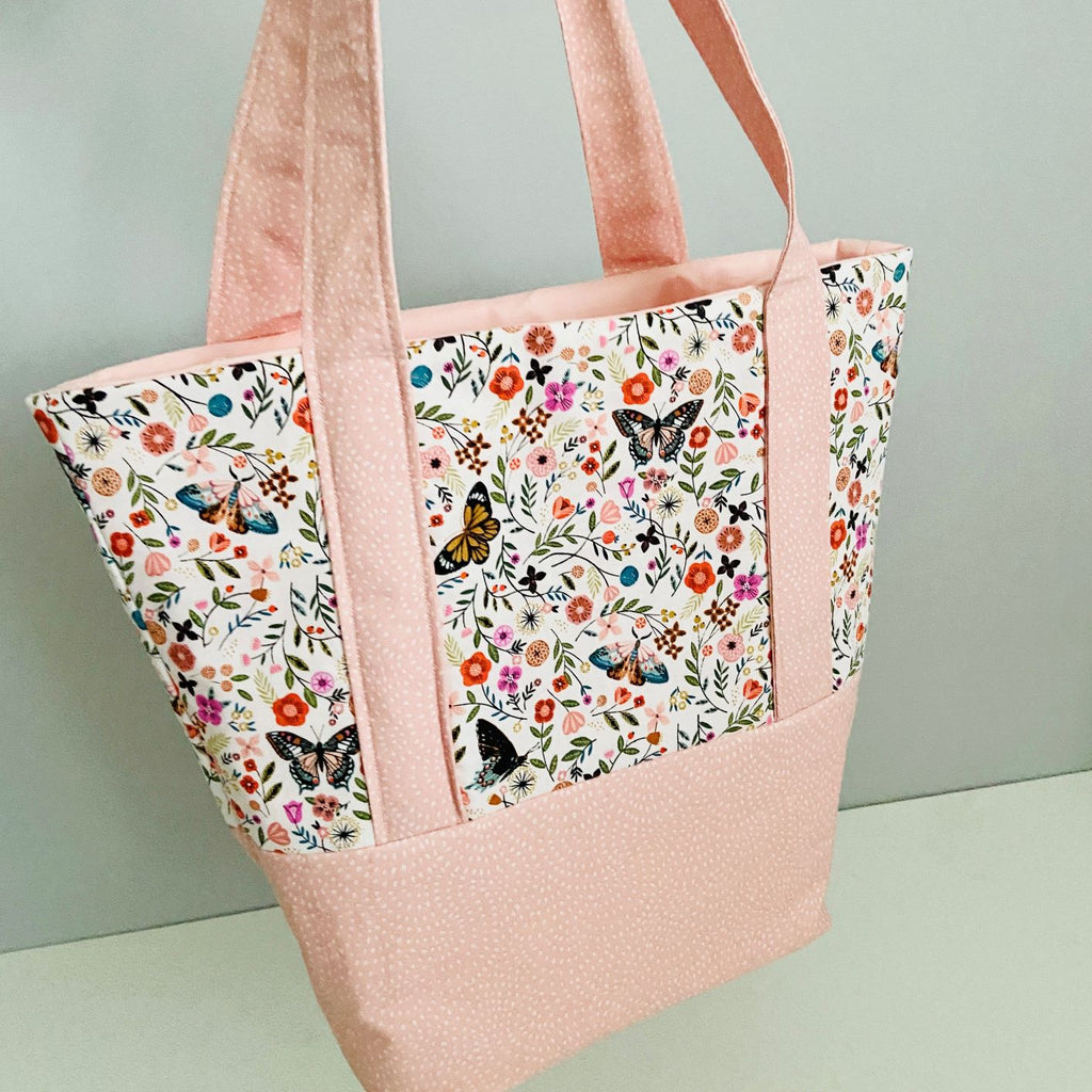 Contrast Tote Bag Project Box