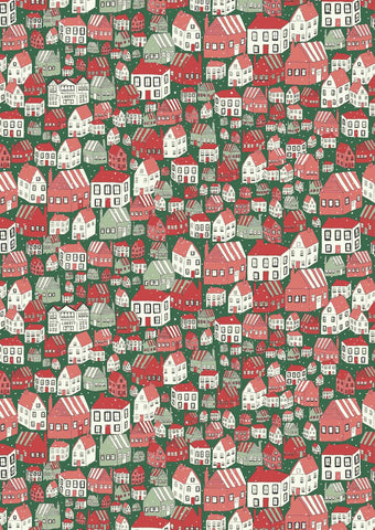 Liberty A Festive Collection - Yule Town - Lasenby Quilting 100% Cotton Fabric