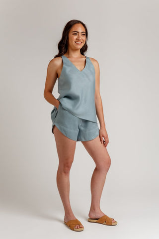Megan Nielsen Sewing Pattern - Reef Camisole & Shorts