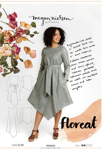 Megan Nielsen Sewing Pattern - Floreat Dress & Blouse