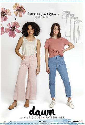 Megan Nielsen Sewing Pattern - Dawn Jeans