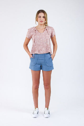 Megan Nielsen Sewing Pattern - Harper Shorts/Skort