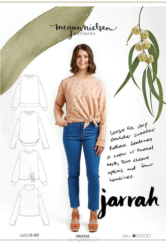 Megan Nielsen Sewing Pattern - Jarrah Sweater