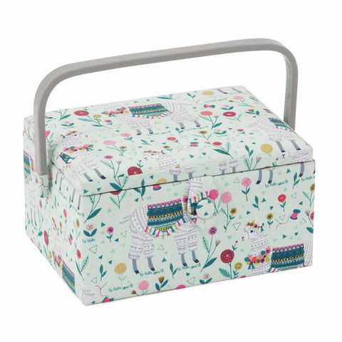 Llama Medium Sewing Box