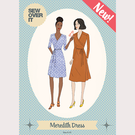 Sew Over It Sewing Pattern - Meredith Dress