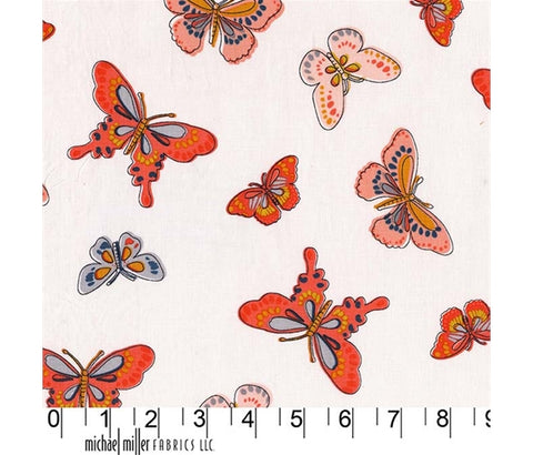 Michael Miller Daisy Paisley - All A Flutter - 100% Cotton Fabric