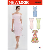 New Look Sewing Pattern N6615 - Misses' Dresses