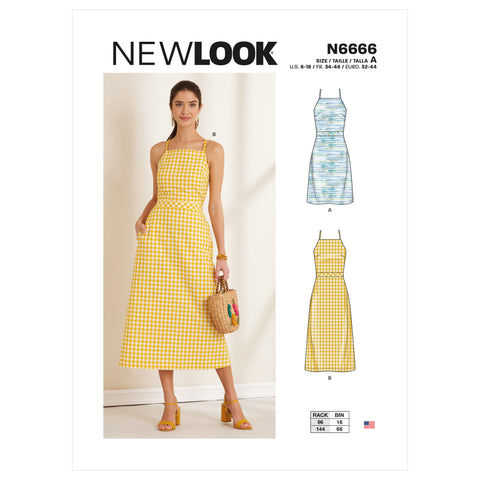 New Look Sewing Pattern N6666 - Misses' Dress