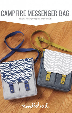 Noodlehead Sewing Pattern - Campfire Messenger Bag